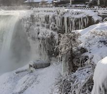See Niagara Falls Transform Into an Icy Wonderland Amid Bone-Chilling Cold