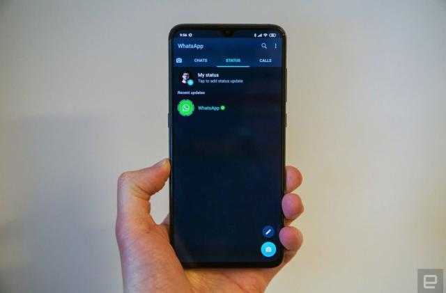 WhatsApp's dark mode rolls out on Android and iOS today