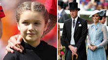 Kate Middleton, Prince William and Harper Beckham top this year's 'power list'