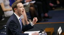 Mark Zuckerberg mocked after using booster seat in senate grilling