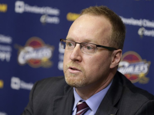 Few have more insight into the Kyrie Irving situation than former Cavaliers GM David Griffin. (AP)