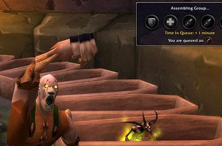 Blood Pact: Leveling up through the Dungeon Finder tool