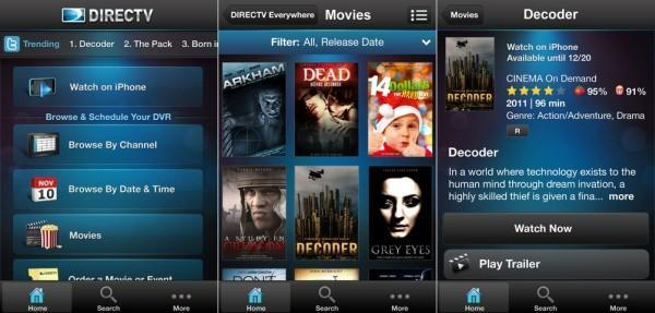 DirecTV Everywhere VOD and live TV streaming finally arrives on the iPhone