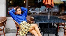 La falda de cuadros de tu infancia ha vuelto: así la combinan las 'instagramers'