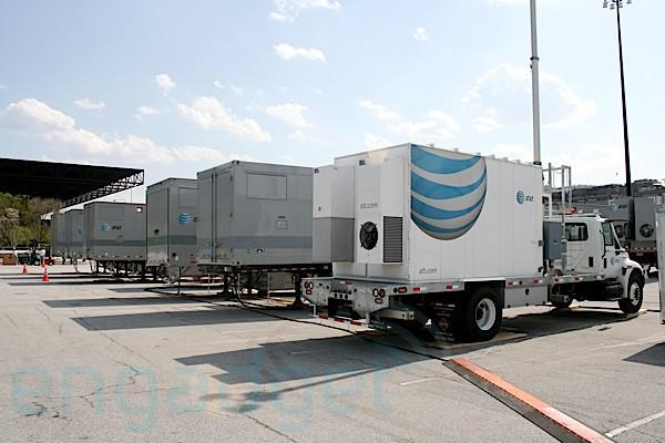 AT&T slinging HSPA 7.2 to six cities this year, adding backhaul capacity too