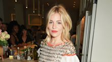 Sienna Miller Proves That Florals Are The Print Du Jour This Season