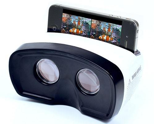 Sanwa stereoscopic YouTube viewer turns your iPhone into a big-screen 3D TV