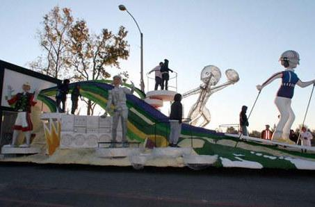This Rose Parade Kinect float won't respond to voice commands