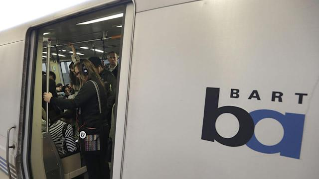 BART service through Transbay Tube briefly halted