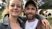 Luke Perry had eco-friendly burial in 'mushroom suit', daughter reveals