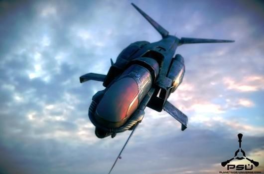 Planetside Next is abuzz about the Mosquito