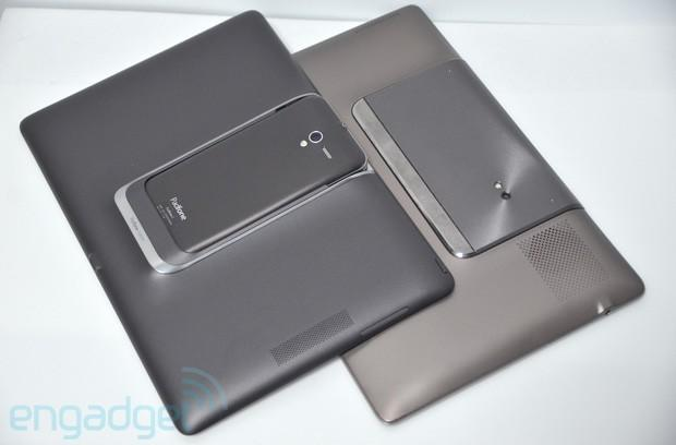 ASUS PadFone 2 vs PadFone 1... hang out!