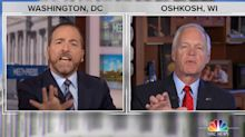 Chuck Todd rips GOP senator for responding to Trump-Ukraine question with 'Fox News conspiracy propaganda stuff'