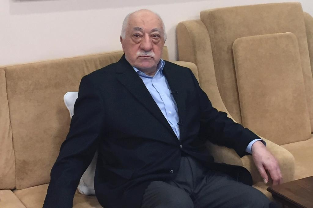 US-based Turkish cleric and regime opponent Fethullah Gulen, seen in 2016, has strongly denied Ankara's charge that he ordered the failed coup and Turkey has failed to secure his extradition (AFP Photo/Thomas URBAIN)