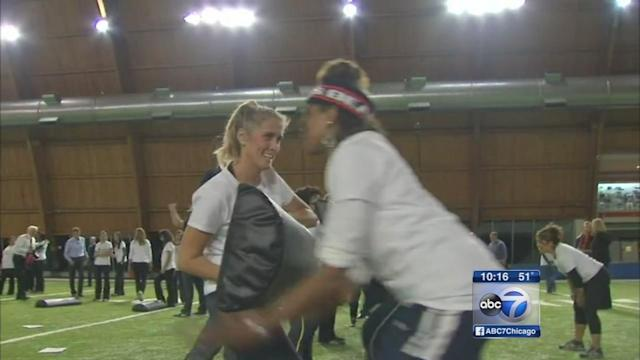 Chicago Bears host football safety clinic for moms