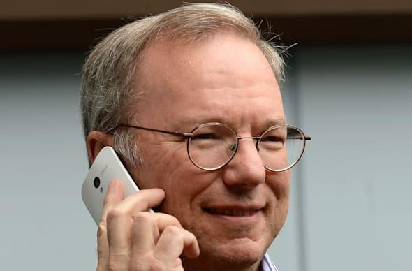 Eric Schmidt calls Android more secure than the iPhone, elicits laughter from crowd of CIOs and IT execs