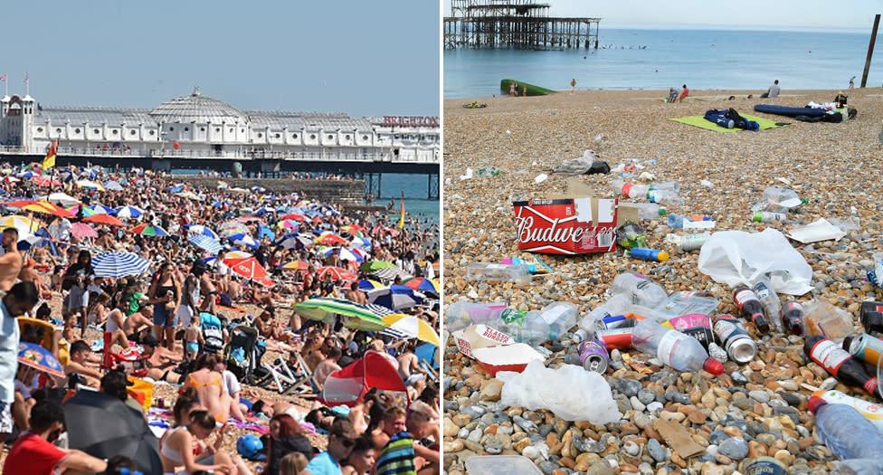 Tourists spark fury with 'disgusting' beach act amid coronavirus crisis – Yahoo News Australia