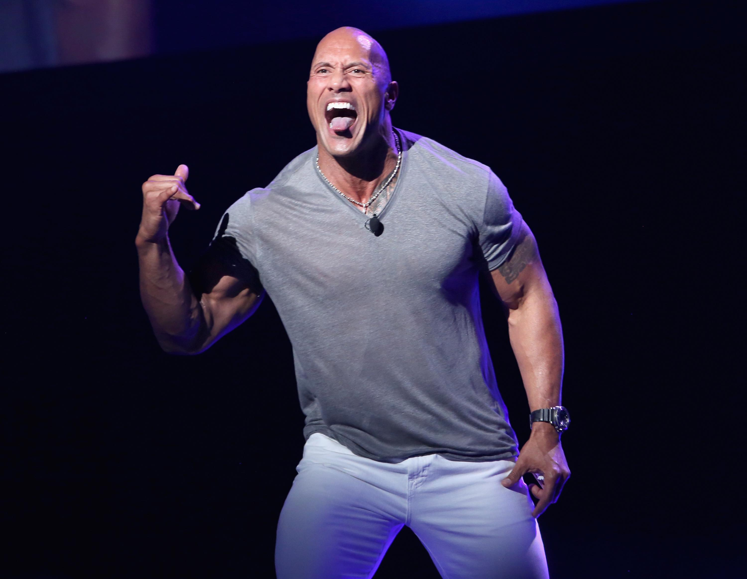 Dwayne 'The Rock' Johnson surprises contestants on fast and furious 'Songland' episode