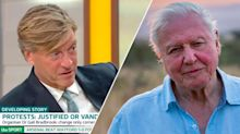 Richard Madeley angers 'GMB' viewers after 'disrespecting' Sir David Attenborough