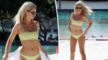 MAFS star Jessika's solo beach day out