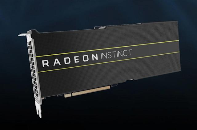 AMD launches the first 7nm GPUs, but they're not for you