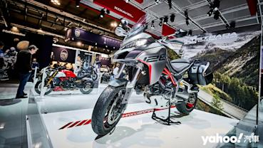 【米蘭車展】加入冒險陣容!2020 Ducati Multistrada 1260 S Grand Tour玩耍絕對很可以!