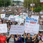 Boston free speech protests: Far-right demonstrators 'outnumbered 10 to 1 by anti-fascists'