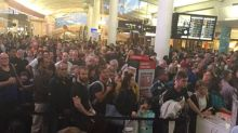 Chaos at Auckland Airport after passenger 'takes knife through security'