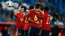 Foot - L. nations - ESP - Mikel Oyarzabal (Espagne): «L'équipe a été bonne défensivement»