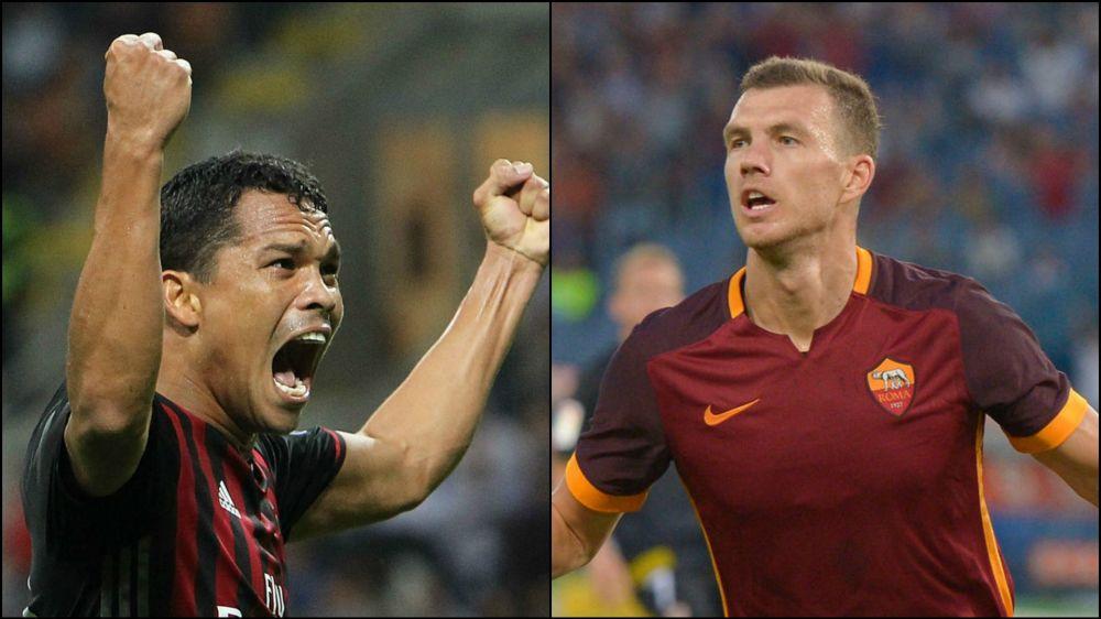 ¿Milan y Roma planean canje ente Bacca y Dzeko?
