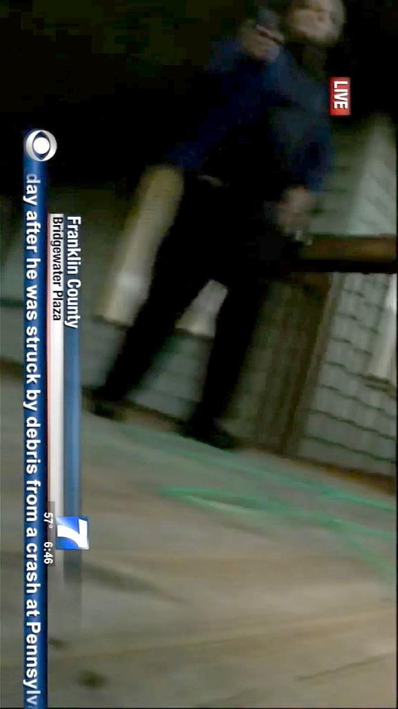 This August 26, 2015 TV video frame grab courtesy of WDBJ7-TV in Roanoke, Virginia shows a shooting suspect caught on camera (AFP Photo/)