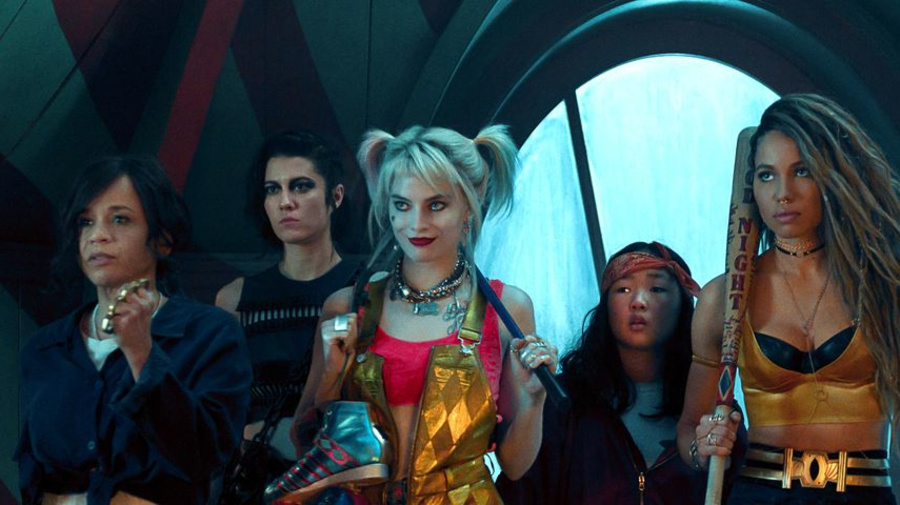 New 'Birds of Prey' poster embraces high art and comic books