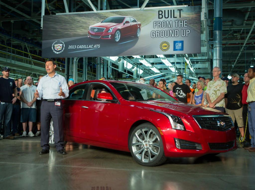 為新車型鋪路,CADILLAC投資1.75億美金生產新轎車