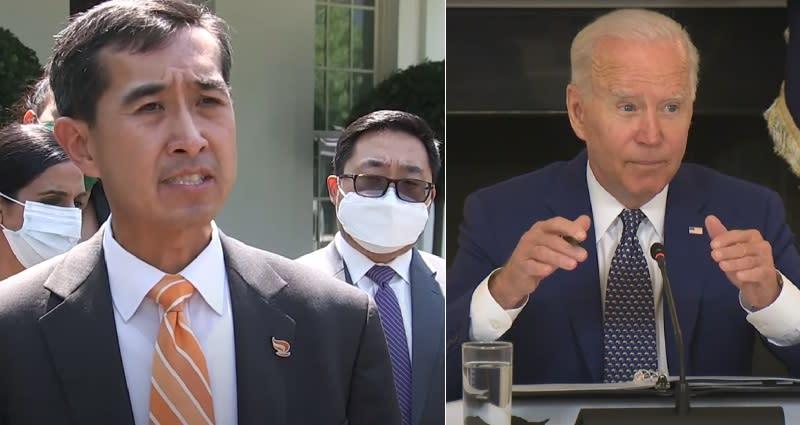 news.yahoo.com: Biden, Harris meet with Asian American, Native Hawaiian, Pacific Islander community leaders