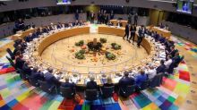 EU leaders seek tough unified message against Turkey's Syria offensive