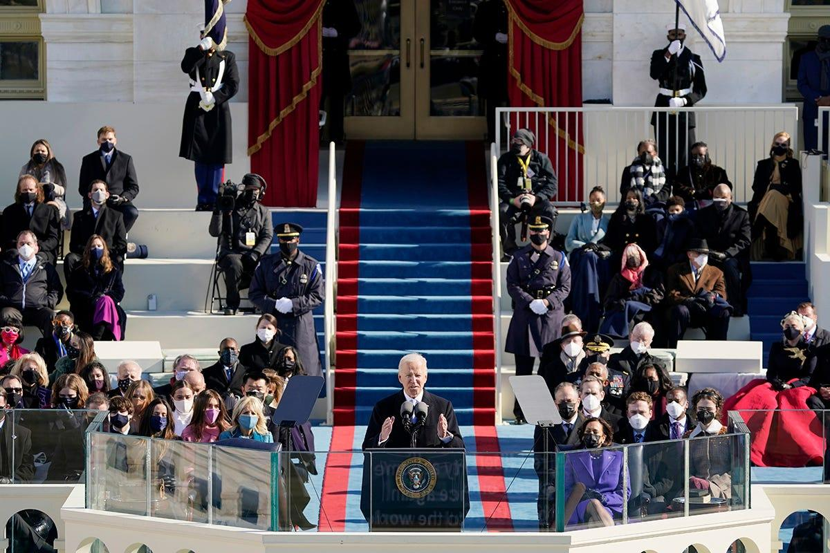 Fact check: No basis for claims that President Joe Biden's inauguration was faked