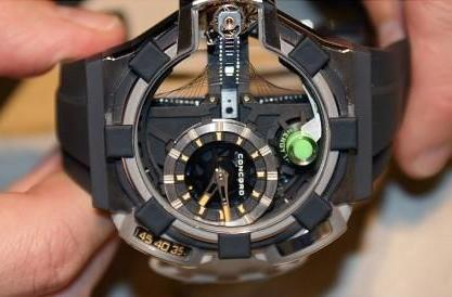 Concord C1 QuantumGravity watch defies reality, shows itself