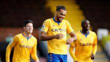 Dominic Calvert-Lewin double sees Everton survive late Fulham fightback