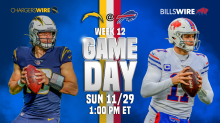 Bills vs. Chargers: Game day inactives