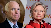 McCain to Hillary Clinton: 'You've got to move on'