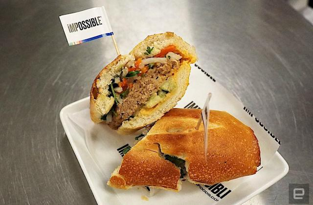 Impossible Foods' faux pork is just as convincing as its fake beef