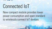 IDT Introduces New 6LoWPAN Module for Wirelessly Connecting IoT Devices