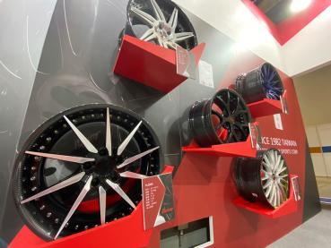兼具輕量化與高強度!波力碳纖維複材汽車輪圈AMPA展出