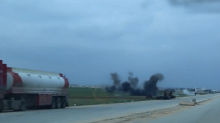 Turkish Shelling Near Afrin After Syrian Government Allied Troops Arrive