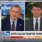 Fox News Corners White House Spokesman: How Does Trump Unite Anyone by Attacking Mattis?