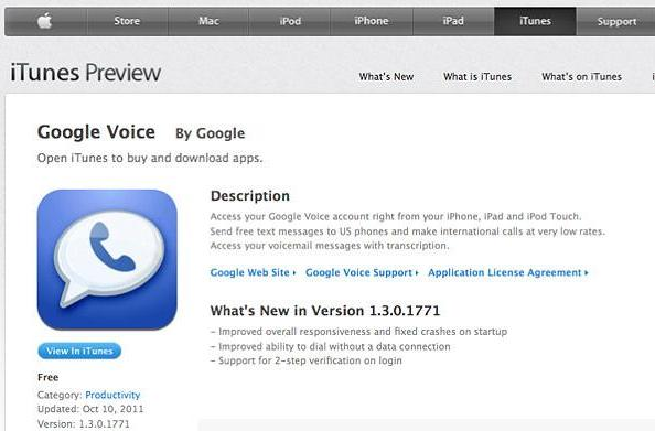 Google Voice pulled from App Store following iOS 5 crash