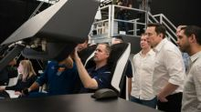 NASA's chief and SpaceX's Elon Musk mend fences – and give 'best guess' for Crew Dragon's big flight
