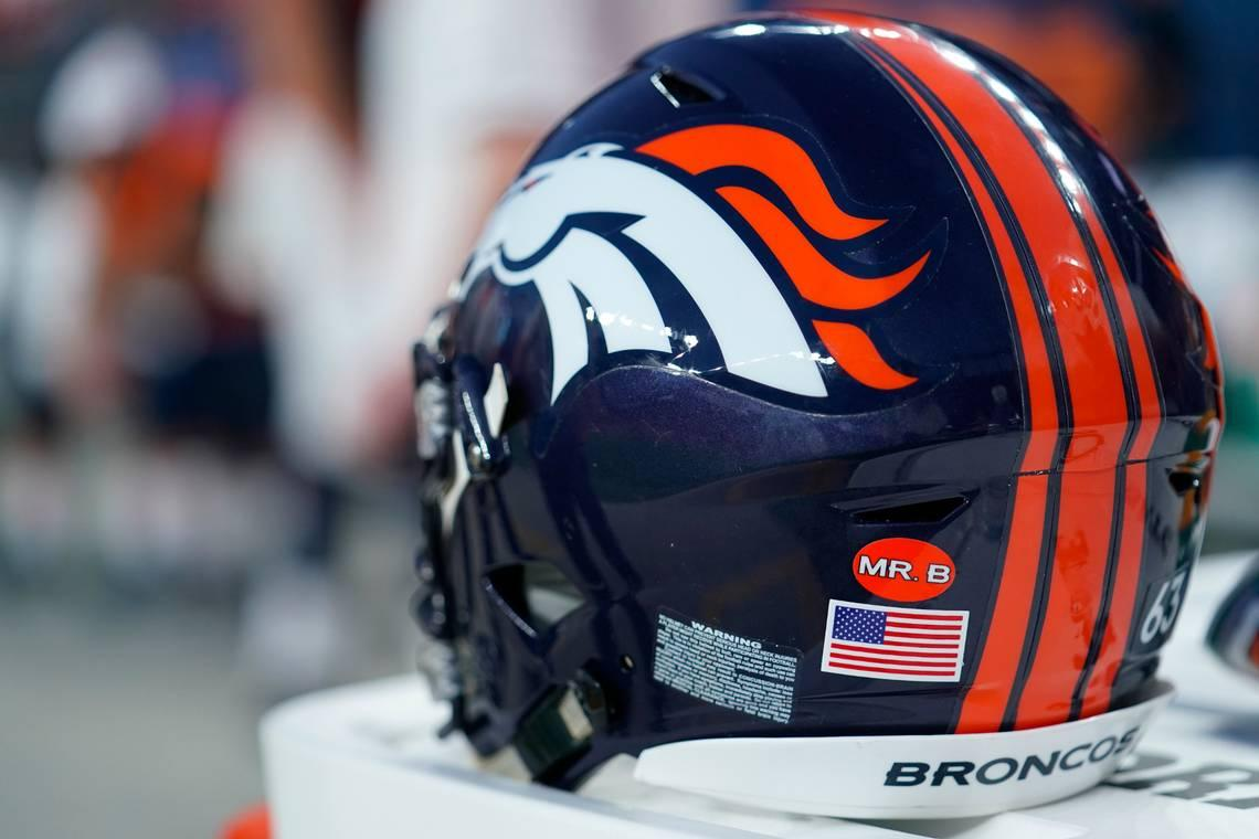 What are the Denver Broncos being sprayed with, and does it kill coronavirus?