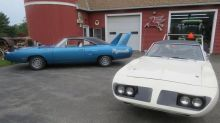 Pair of 1970 Plymouth Superbird barn finds hits eBay