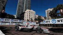 St Petersburg Indycar: Power takes pole as title chasers struggle